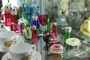 Sale 8269 - Lot 63 - Ruby Glass & Silver Plated Cranberry Glass Wares