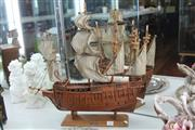 Sale 8283 - Lot 52 - Timber Model of the Mary Rose