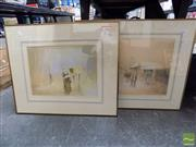 Sale 8407T - Lot 2063 - Rex Mule (2 works) - Framed Editioned Prints, each signed lower right