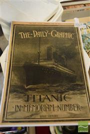 Sale 8497 - Lot 2325 - Titanic Memorabilia Booklet