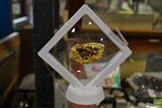 Sale 8563T - Lot 2387 - Gold Plated Geode