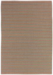 Sale 8651C - Lot 1 - Colorscope Collection; Indoor/Outdoor, Olefin/Polyprop - Orange/Grey Rug, Origin: India, Size: 160 x 230cm RRP: $669