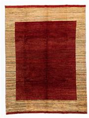 Sale 8760C - Lot 65 - An Afghan Chobi Naturally Dyed In Hand Spun Wool, Very Suitable To Australian Interiors, 285 x 210cm