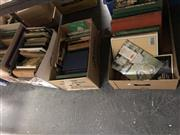 Sale 8797 - Lot 2496 - 5 Boxes of Tennis Related Books