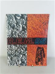 Sale 8960M - Lot 32 - R.E.M. 95 Tour Brochure