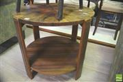 Sale 8302 - Lot 1033 - Art Deco Occasional table