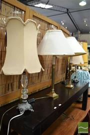 Sale 8472 - Lot 1005 - Pairs of Table Lamps x 2