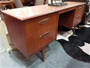 Sale 8782 - Lot 1054 - Jentique Teak Desk/Dressing Table with 4 Drawers