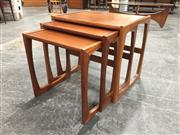 Sale 8967 - Lot 1046 - Nest of Three G Plan Occasional Tables (H:48 x W:53 x D:43cm)