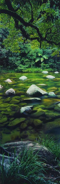 Sale 9189A - Lot 5055 - PETER LIK (1959 - ) 'Pristine Waters' C Type photograph, ed. AP-20 of 45 150 x 50 cm signed lower right