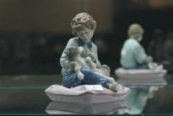 Sale 7917 - Lot 1 - Lladro Figure Boy with Jack Russell