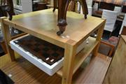 Sale 8093 - Lot 1142 - Tiered Coffee Table