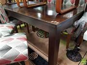 Sale 8480 - Lot 1031 - Modern Timber Dining Table