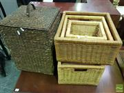 Sale 8495F - Lot 1052 - Collection of Wicker Baskets
