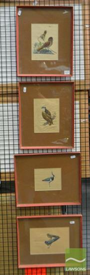 Sale 8503 - Lot 2099 - 4 Original Artworks on Paper of Birds