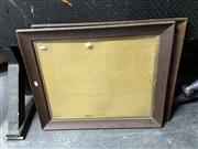Sale 8888 - Lot 2078 - Pair of Antique Oak Picture Frames