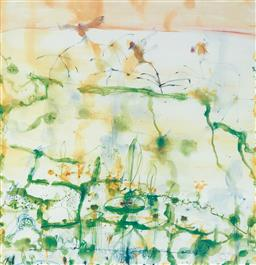 Sale 9189A - Lot 5007 - JOHN OLSEN (1928 - ) 'Lily Trotters, 1997' offset lithograph, ed. 2/99 64 x 61.5 cm (frame: 94 x 85 x 5cm) signed and dated lower rig