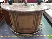 Sale 8495F - Lot 1065 - Marble Top Bar Unit