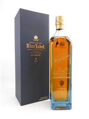Sale 8514 - Lot 1719 - 1x Johnnie Walker Blue Label Blended Scotch Whisky - commemorative edition for Sydney, 1000ml in box