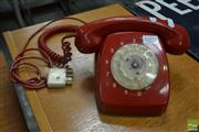 Sale 8528 - Lot 1003 - Red Dial Phone