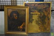 Sale 8522 - Lot 2093 - Rembrandt Style Pictures and Framed Plaques