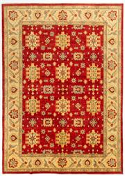 Sale 8740C - Lot 38 - An Afghan Chobi, Naturally Dyed In Hand Spun Wool, Very Suitable To Australian Interiors, 384 x 276cm