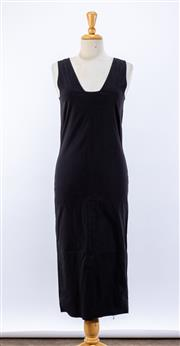 Sale 8891F - Lot 78 - An Isabel Marant black cotton-blend sheath dress, approx size 10