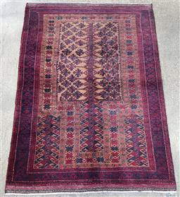 Sale 9188 - Lot 1497 - Persian hand knotted pure wool Baluchi (140 x 81cm)