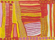 Sale 8552A - Lot 5012 - Anmanari Brown (c1932 - ) - Minyma Kutjara, 2005 100 x 139cm (stretched & ready to hang)