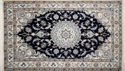 Sale 8276B - Lot 36 - Persian Nain Tabas 202cm x 120cm RRP $1000