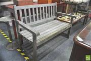 Sale 8302 - Lot 1044 - Outdoor Bench