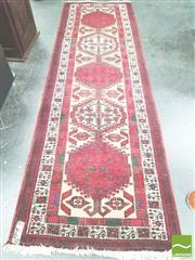 Sale 8406 - Lot 1125 - Persian Balouch Runner (330 x 100cm)