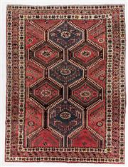 Sale 8780C - Lot 229 - A Persian Hamadan Classed As Village Rugs, Wool On Cotton Foundation, 290 x 220cm