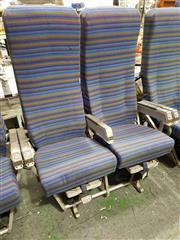 Sale 8809B - Lot 617 - Pair of Vintage Aircraft Seats