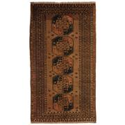 Sale 8860C - Lot 5 - An Afghan Vintage Turkoman, in Handspun Wool 120x215