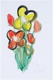 Sale 8867A - Lot 5055 - Kevin Charles (Pro) Hart (1928-2006) - Floral Study 30 x 20cm