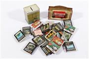 Sale 9003C - Lot 683 - A collection of bar coasters and other items incl matchbooks