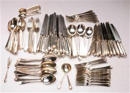 Sale 9122 - Lot 103 - Hardy Brothers Cutlery Suite for 18 People