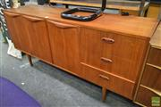 Sale 8235 - Lot 1012 - Chiswell 60s Sideboard with 3 Doors & 3 Drawers
