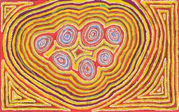 Sale 8552A - Lot 5034 - Winifred Richards (XX) - Wan Mala Tjukurpa, 2008 93 x 148cm (stretched & ready to hang)