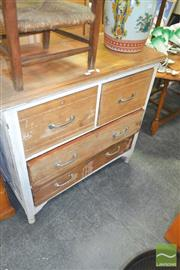Sale 8272 - Lot 1076 - Rustic Chest of Drawers