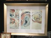 Sale 8776 - Lot 2009 - Brett Whiteley Decorative Prints from the American Dream Series (1)