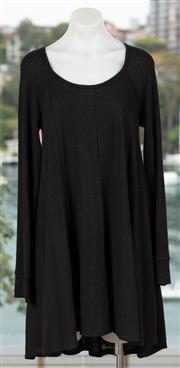 Sale 9044H - Lot 56 - Two BDG woollen black dresses, one Large one small
