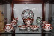 Sale 8151 - Lot 77 - Chinese Polychrome Plate (AF), Teapot with Japanese Tea Wares