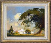 Sale 8382 - Lot 514 - Colin Parker (1941 - ) - Farm Cottage, Kurrajong 41 x 50cm