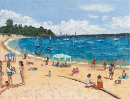 Sale 9125A - Lot 5061 - Stanley Perl (1942 - ) - A Summers Day II 50.5 x 61 cm