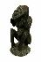 Sale 3850 - Lot 42 - ANCESTRAL WOODEN FIGURE MINDIMBIT VILLAGE SEPIK RIVER PAPUA NEW GUINEA