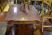 Sale 8134 - Lot 1048 - Timber Occasional table