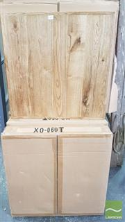 Sale 8392 - Lot 1071 - Boxed Timber Table Tops x 10 (60 x 60)