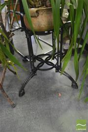 Sale 8406 - Lot 1184 - Metal Table Base For Circular Top